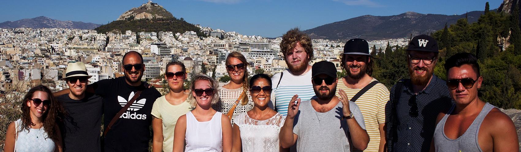 Teamet i Grekland 🇬🇷